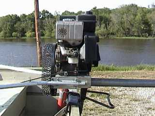 Scavenger Backwater Motor Mud Motor For Any Shallow Water